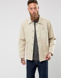Weekday Generic Denim Jacket Sand afbeelding