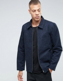 Weekday Multi Denim Jacket Dark Blue afbeelding