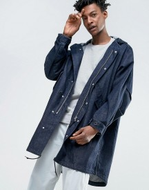 Weekday Rose Denim Parka afbeelding