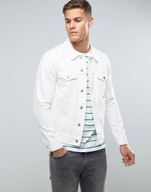 Weekday Single Denim Jacket White afbeelding