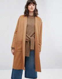 Weekday Thrown On Knit Coat afbeelding