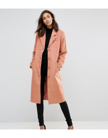 Y.a.s Tall Button Down Peacoat afbeelding