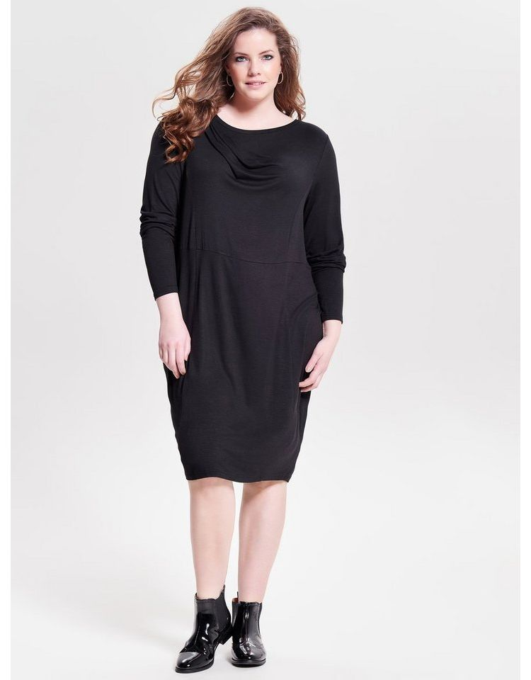 Image Only Carmakoma Curvy Long Sleeved Gebreide Jurk