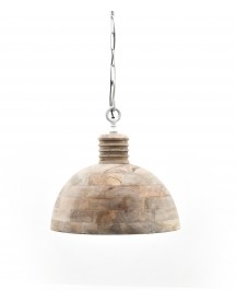 Hanglamp Wood 48cm Bruin - By Boo afbeelding