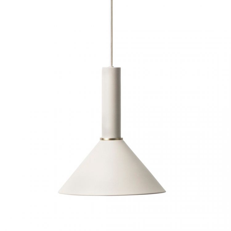 Image Collect Cone Lichtgrijs High Hanglamp