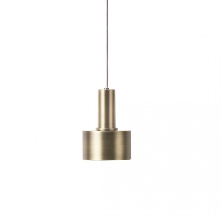 Image Ferm Living Collect Disc Messing Low Hanglamp