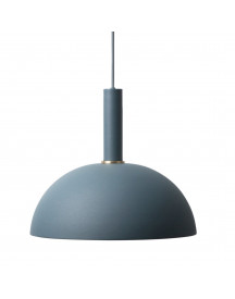 Ferm Living Collect Dome Donkerblauw High Hanglamp afbeelding