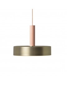 Ferm Living Collect Record Messing High Hanglamp afbeelding