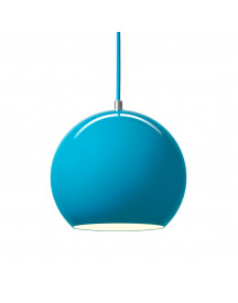 &tradition Topan Vp6 Hanglamp Turquoise afbeelding