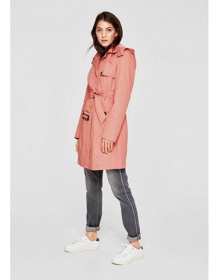 Image S.oliver Red Label Trenchcoat Met Pas