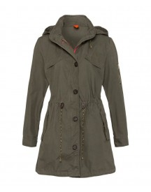 Brax Style Lund Authentieke Parka-stijl In Washed Cotton afbeelding