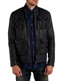 Jack & Jones Leather Leather Jacket afbeelding