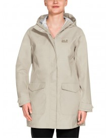 Jack Wolfskin Outdoormantel Crosstown Raincoat Women afbeelding