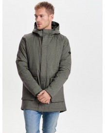 Only & Sons Effen Parka afbeelding