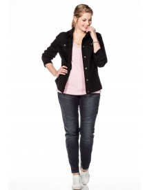 Sheego Basic Sheego Casual Basic Kort Jack afbeelding