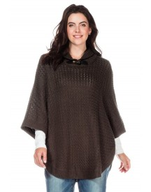 Sheego Casual Sheego Casual Trui In Ponchostijl afbeelding