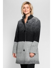Sheego Style Sheego Style Coat In Kleurverloop afbeelding