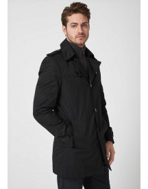 Nu 15% Korting: S.oliver Black Label Smalle Twill Trenchcoat afbeelding
