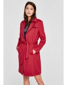 S.oliver Red Label Double Face Mantel Met Een Trenchcoatlook afbeelding