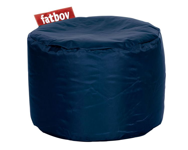 Image Fatboy Point Pouf-blauw