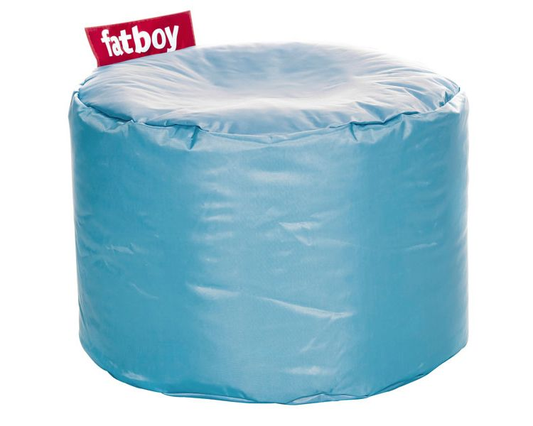 Image Fatboy Point Pouf-ijsblauw