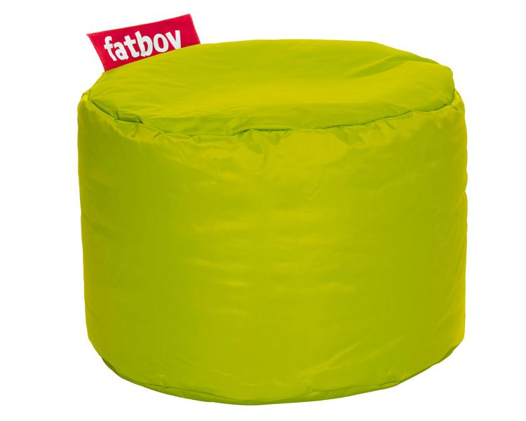 Image Fatboy Point Pouf-lime Groen