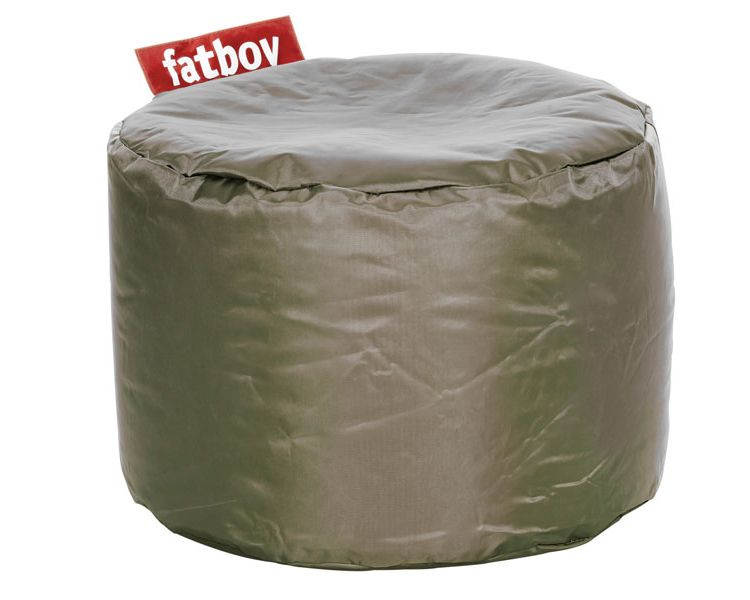 Image Fatboy Point Pouf-olijf Groen