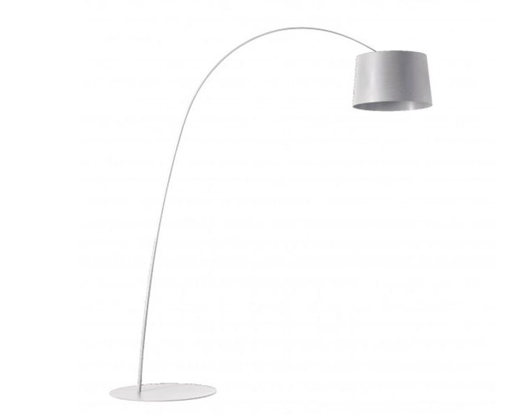 Image Foscarini Twiggy Led Dimbaar Booglamp-wit