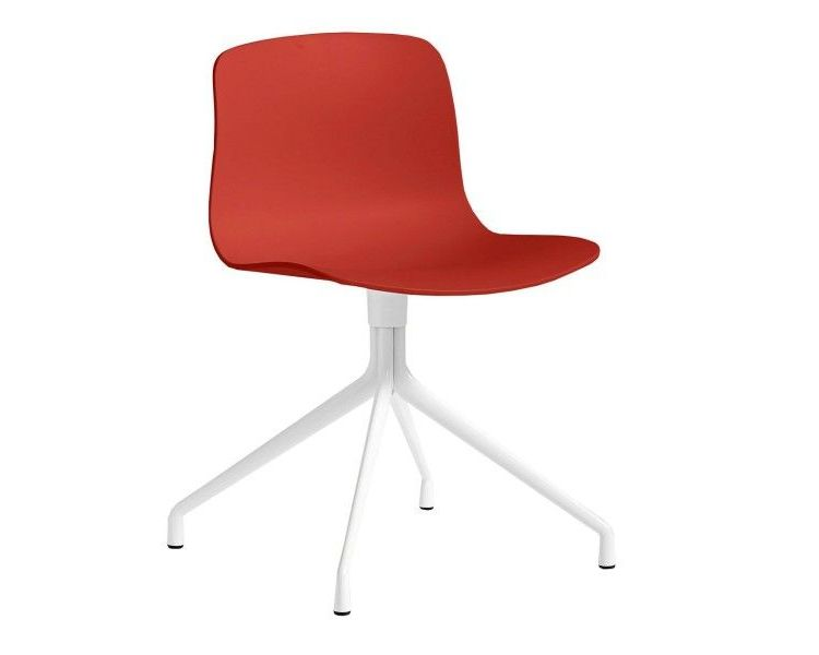 Image Hay About A Chair Aac10 Wit Onderstel Stoel-rood