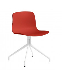 Hay About A Chair Aac10 Wit Onderstel Stoel-rood afbeelding
