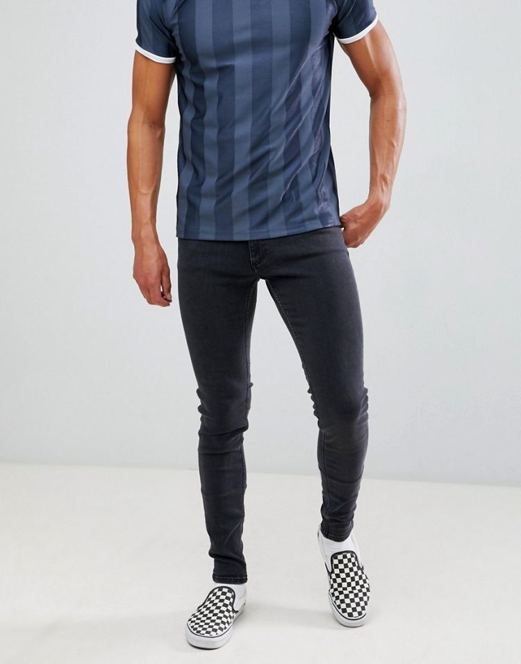 Image Cheap Monday Super Skinny Jeans In Black