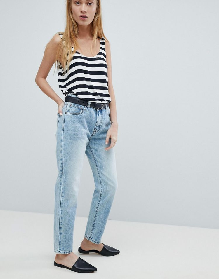 Image Dr Denim Pepper High Rise Jean