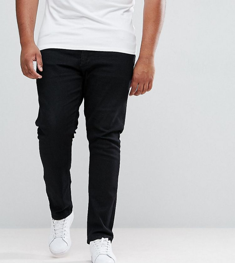 Image Duke King Size Skinny Jeans In Black