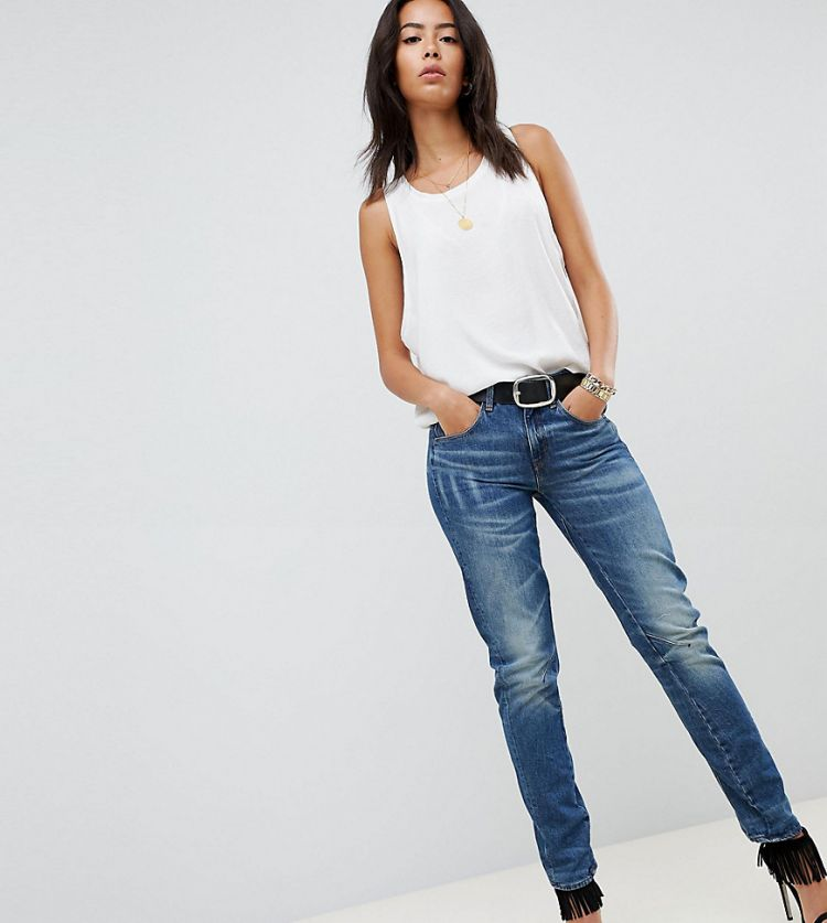 Image G-star Arc 3d Low Rise Boyfriend Jean Tall