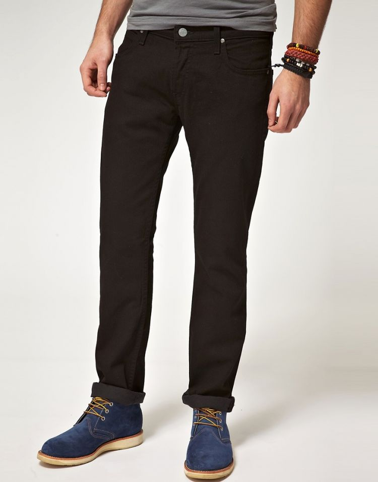 Image Lee Powell Clean Wash Slim Jeans