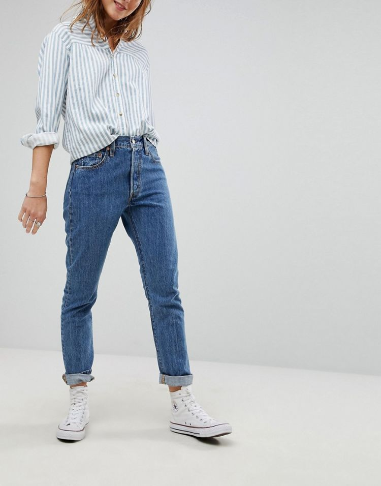 Image Levi's 501 High Rise Skinny Jean