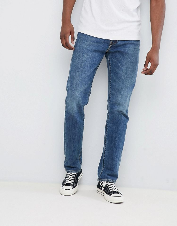 Image Levi's 511 Slim Fit Jeans Coywolf