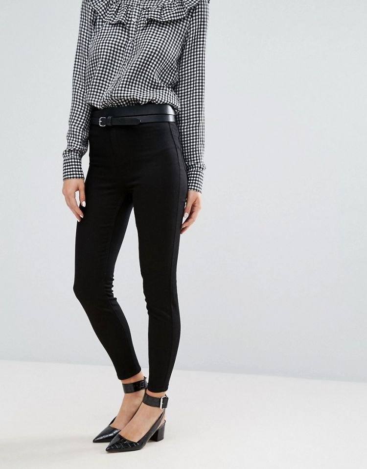 Image New Look India Disco Skinny Jeans