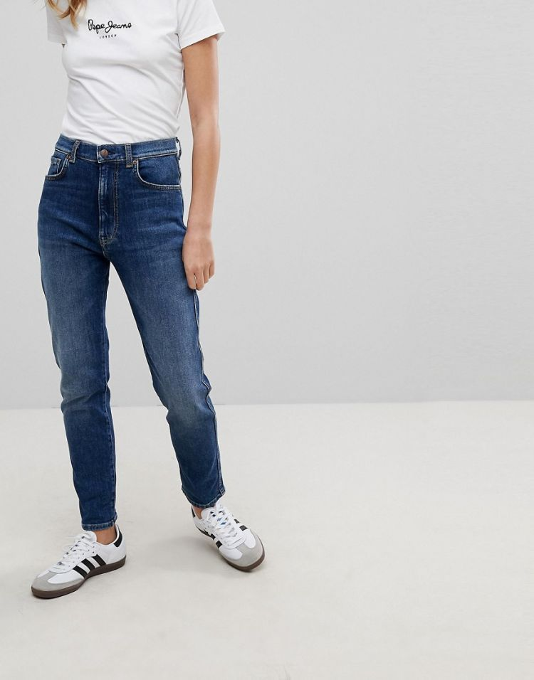 Image Pepe Jeans Betty High Waist Slim Mom Jean