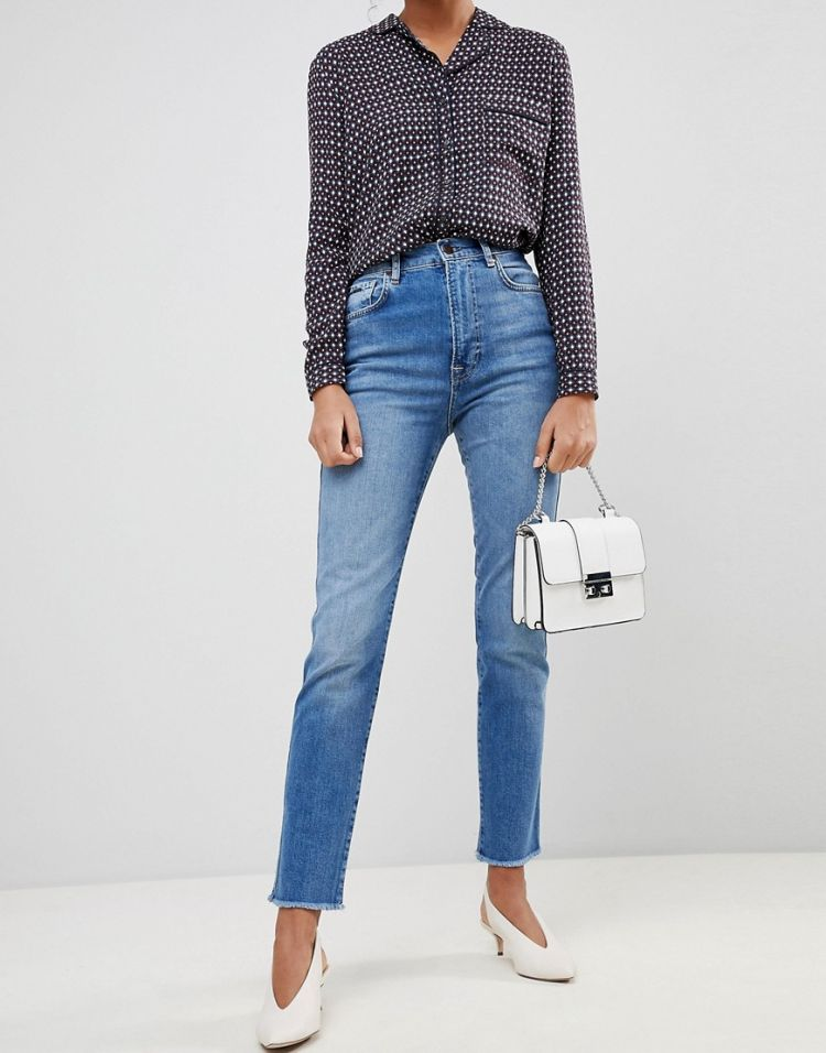 Image Pepe Jeans Betty High Waisted Skinny Jeans