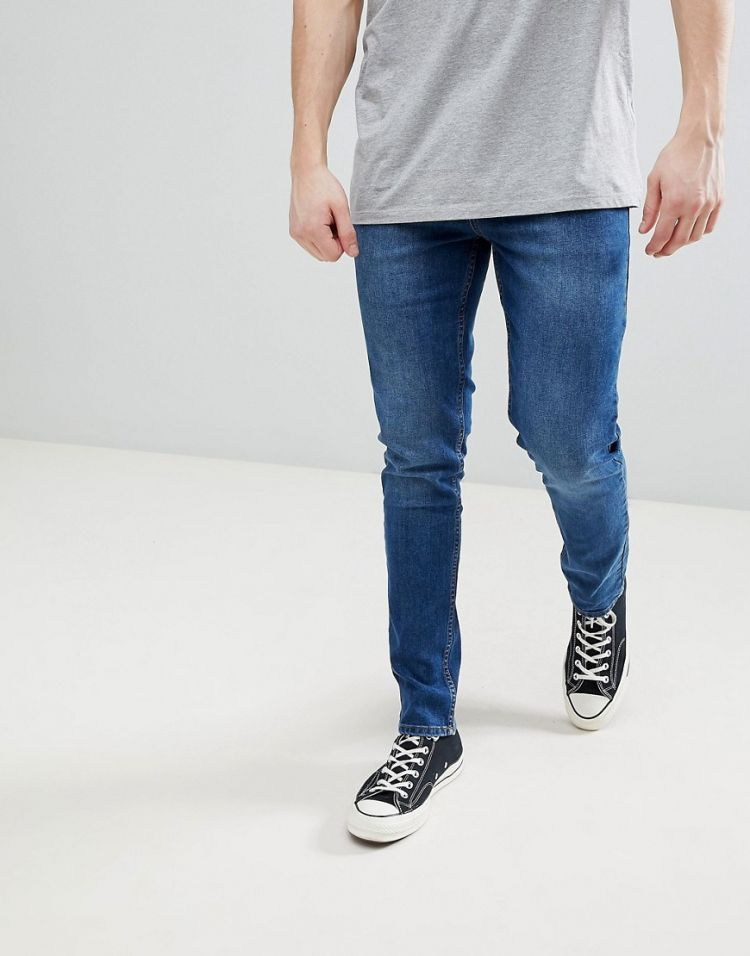 Image Saints Row Skinny Fit Jeans In Indigo