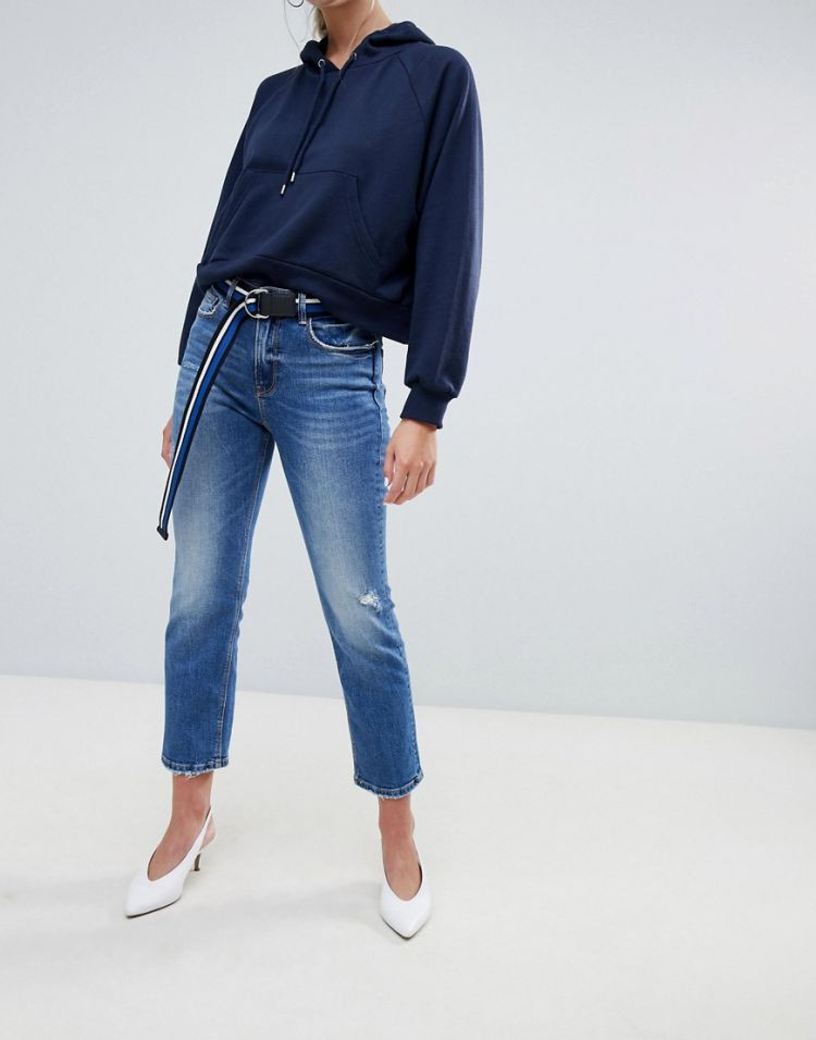 Image Stradivarius Straight Fit Jeans