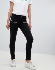 2ndday Skinny Jeans With Zip Detail afbeelding