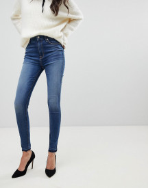 7 For All Mankind Aubrey Super High Waist Skinny Jeans afbeelding