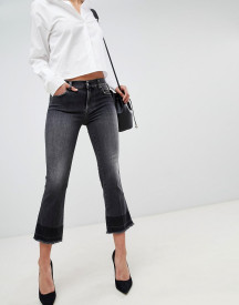 7 For All Mankind Cropped Kick Flare Jeans afbeelding