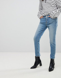 7 For All Mankind Josefina Fitted Boyfriend Jeans afbeelding