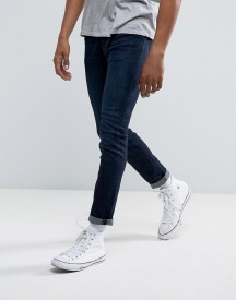 Abercrombie & Fitch Skinny Fit Jeans In Stretch Dark Wash afbeelding