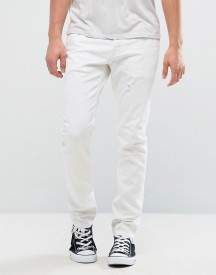 Allsaints Jeans In Skinny Fit White Denim afbeelding