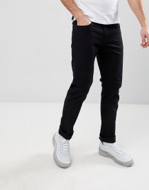 Armani Exchange J13 Slim Fit 5 Pocket Stretch Jeans In Black afbeelding