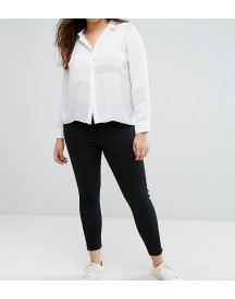 Asos Design Curve Pull On Jeggings In Washed Black afbeelding